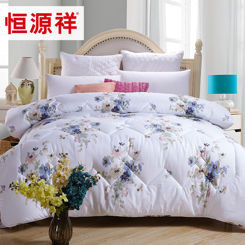 Heng yuan xiang textile cotton summer was cooler cotton summer air conditioning is spring and summer is the core cool thin quilts single or double student genuine