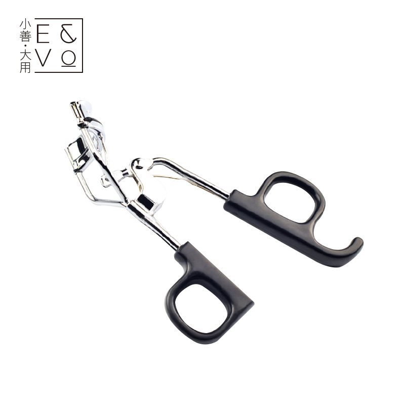 Herbaceous plant source stainless steel super wide angle eyelash curler eyelash curling high elastic plastic handle beauty tools send mrtomated