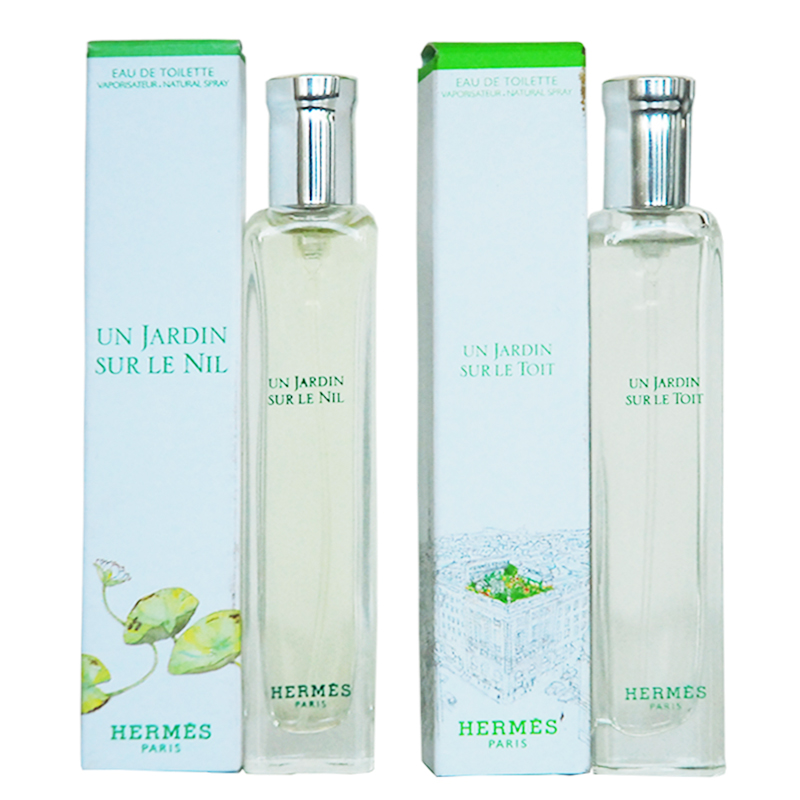 Hermes hermes roof garden/nile garden neutral perfume 15mlq version of the group in