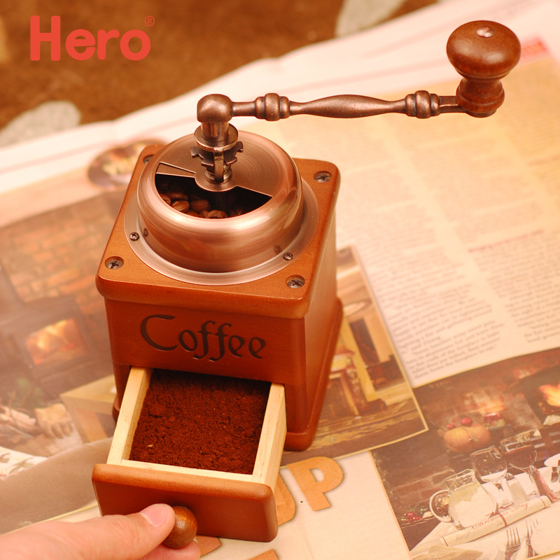 Hero hand grinder home coffee bean grinder manual coffee hand grinder coffee mill grinder x-6