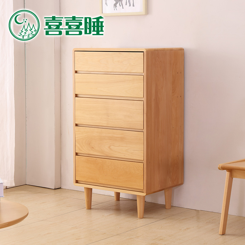 Get Quotations · Hi Hi Bed Solid Wood Futon Nordic Ikea Chest Of Drawers  Chest Of Drawers Beech Wood