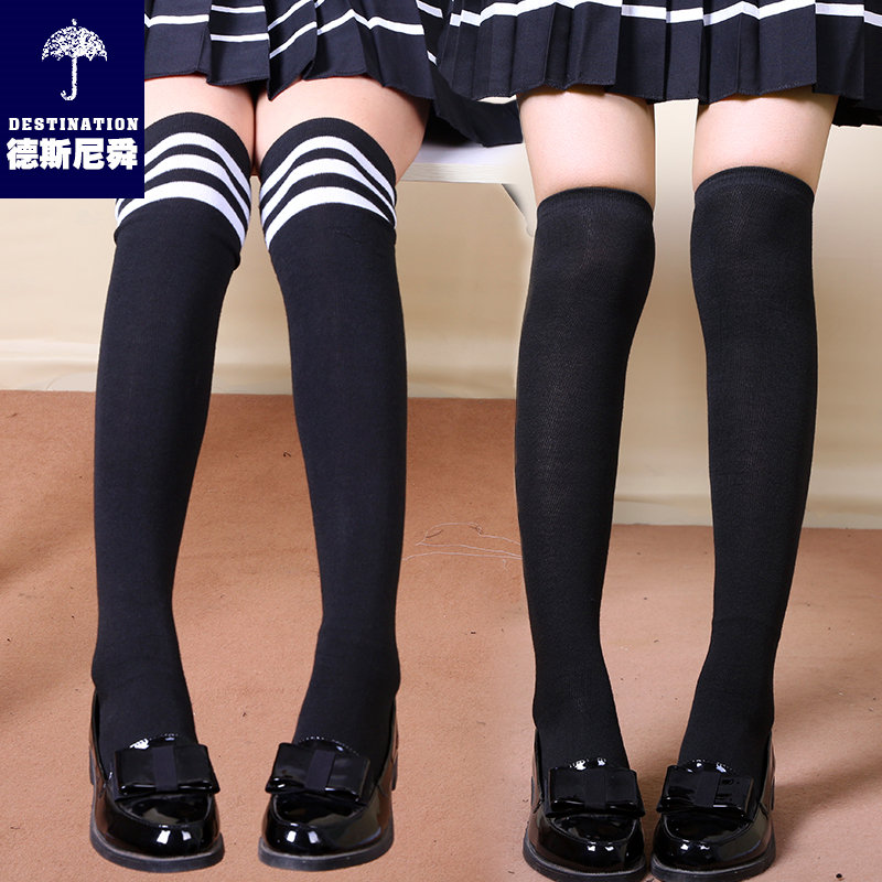 High quality japanese stockings knee socks korean students in tube socks socks socks pure cotton socks baby socks gaotong