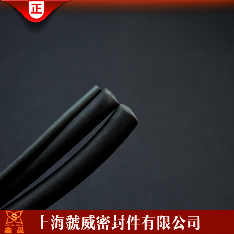 High temperature fluorine rubber seal/thickness 3mm acid and alkali resistant round bar/aging seal/seal oil and solid rubber Article