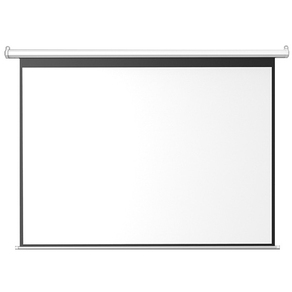 High wycombe 100-inch electric screen 180 white plastic/bead curtain