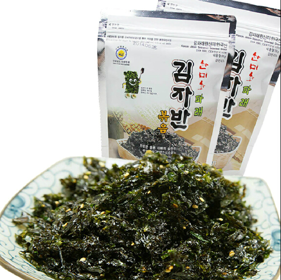Ho south korean imports of the rok-us wo fried nori seaweed bibimbap 70g 17.9.6.