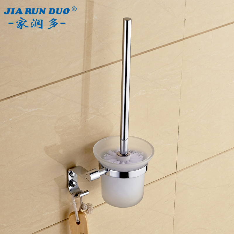 Home run thick stainless steel toilet brush bathroom toilet brush toilet toilet toilet brush toilet cleaning brush holder bathroom hardware accessories