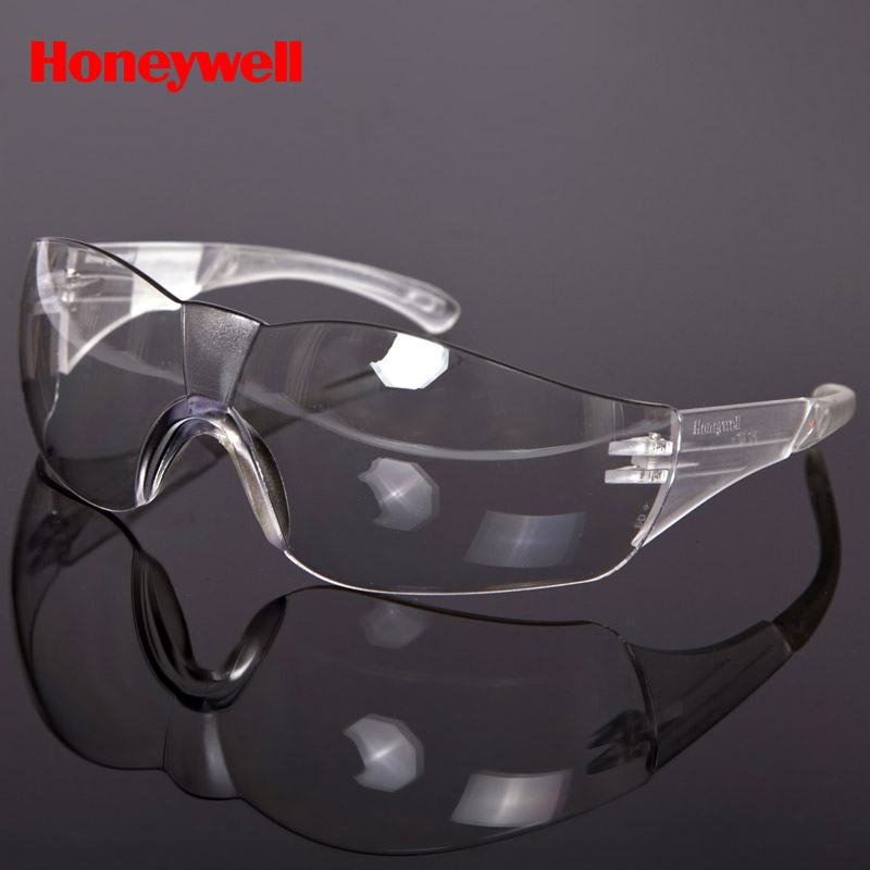 611298b0040 Get Quotations · Honeywell 100020 protective glasses transparent color  particles prevent sand and dust outdoor riding goggles impact