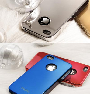 Hong kong genuine timeless classic iphone 4 christmas color covers mobile phone protective sleeve shell plating