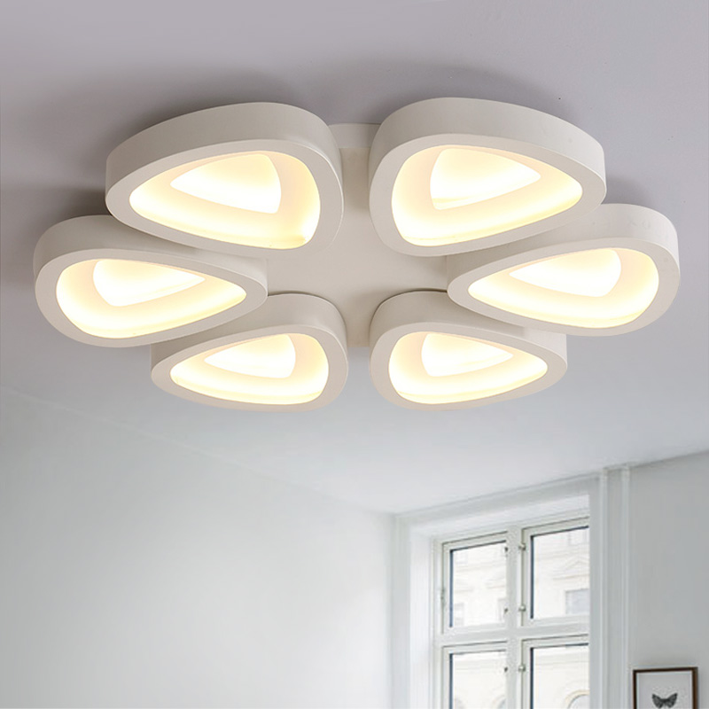Hong kong harbor led modern minimalist living room lamp bedroom lamp restaurant lights stylish atmosphere art ceiling lights shaped lamps