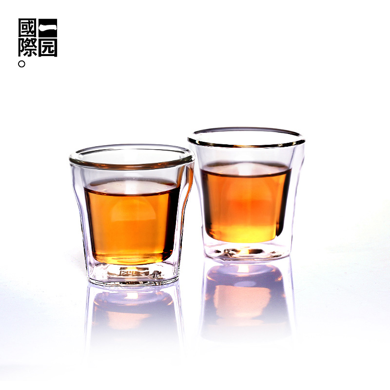 Hong kong quartet glass cup glass cup borosilicate glass cup tea cup cup product