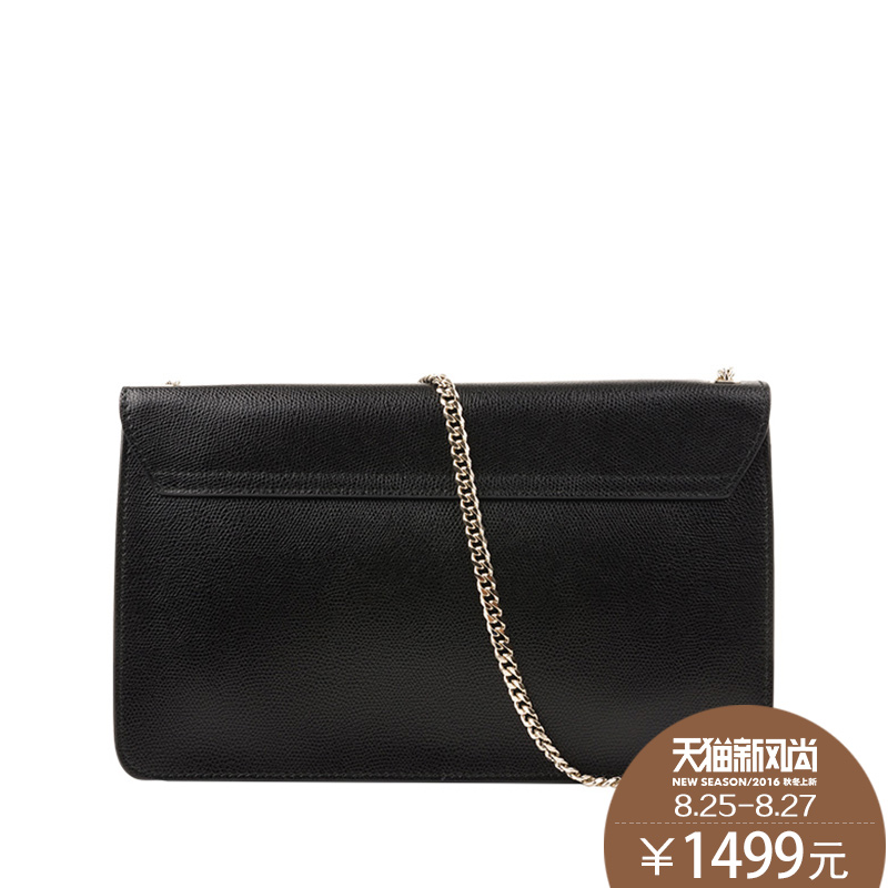 Hong kong stock fulla furla handbags 2016 autumn new ladies leather shoulder bag black chain