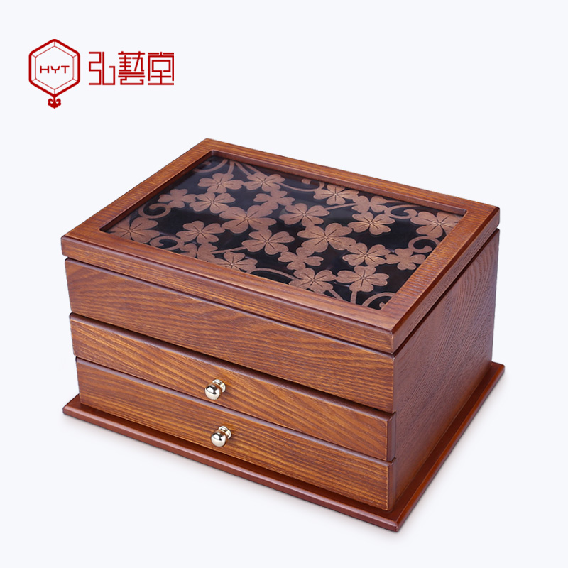 Get Quotations Hong Yi Tong Wooden Jewelry Box European Vintage Storage