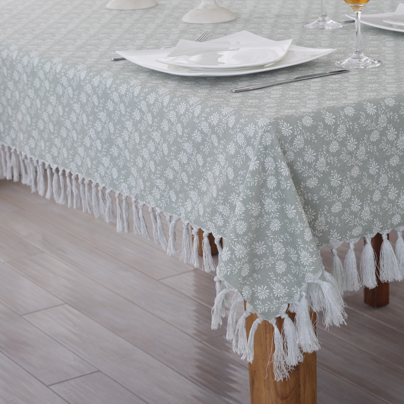 Hope accompanied by cotton pastoral coffee table book tablecloth fabric upholstery kit radius of the rectangular shaped european and american style coffee table tablecloth
