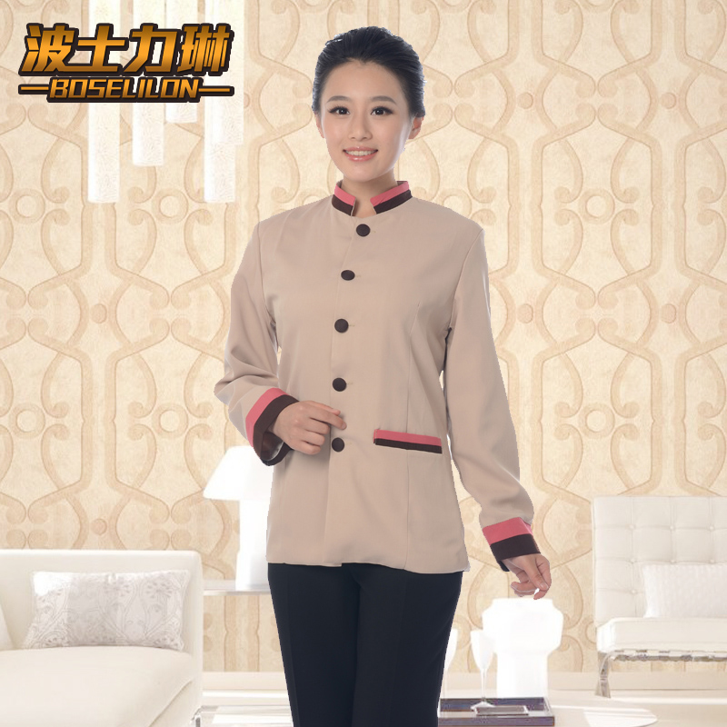 Hotel uniforms female hotel property cleaning hotel room attendant uniforms pa hotel cleaning clothes fall and winter clothes long sleeve