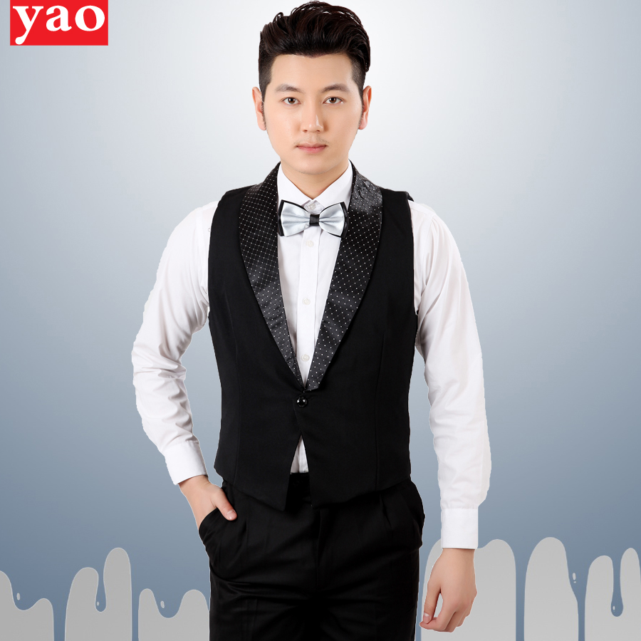 Hotel uniforms spring and summer vest vest ktv attendant uniforms vest vest vest hotel uniforms for men and women