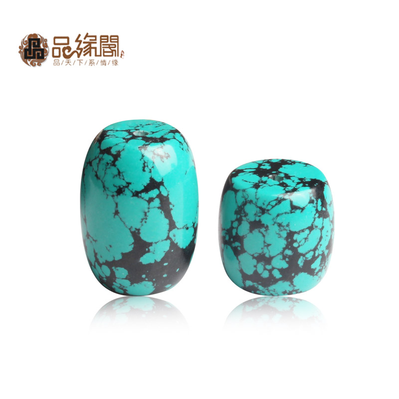 House edge products xinjiang optimization turquoise beads barrel drum beads loose beads wheel accessories loose beads top bead waist beads dy