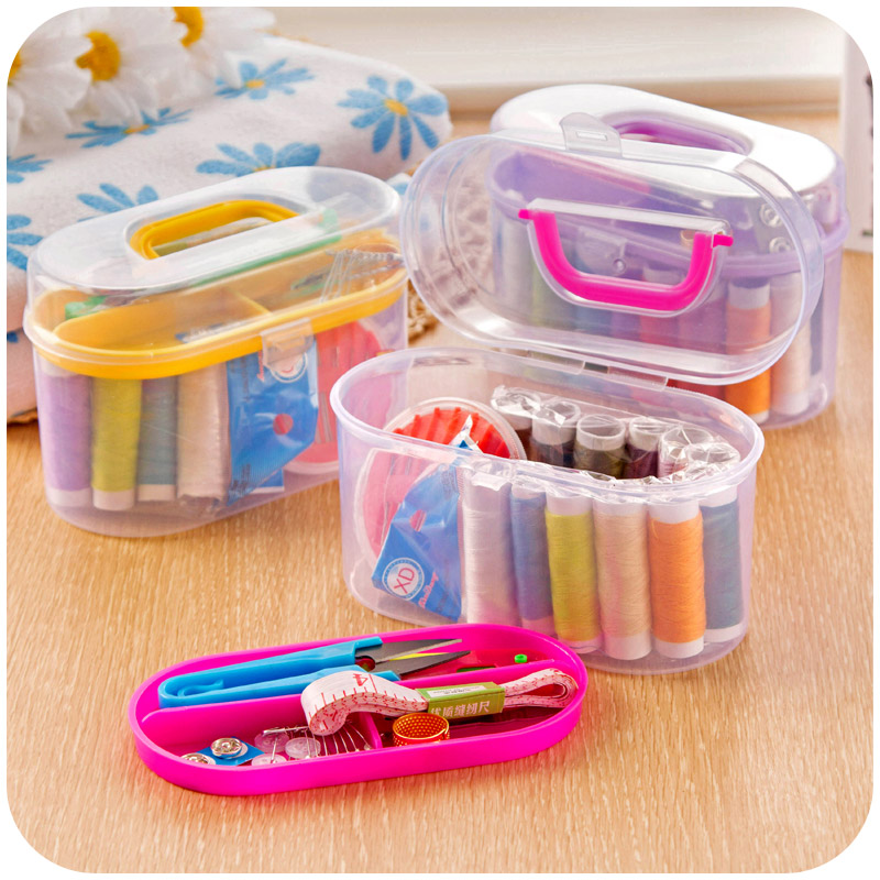 Household sewing kit box set of portable mini sewing kit sewing tools sewing thread sew sewing kit 10 sets
