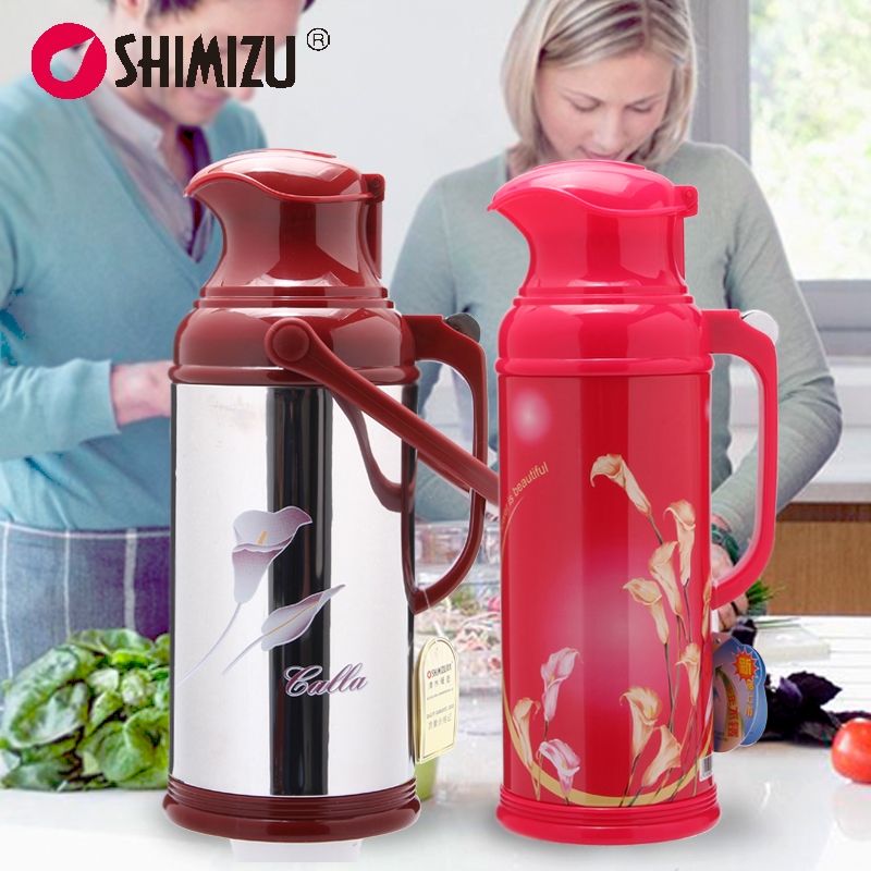 Household water thermos stainless steel thermos glass liner thermos thermos vacuum insulation kettle large capacity married