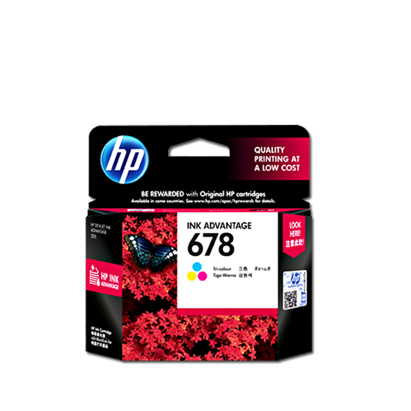 Hp/hp cz108aa (678) color ink applicable (2648 3515 1018 1518 2548)
