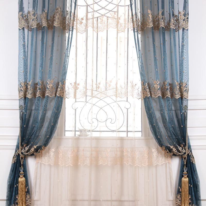 Hua hin european relief window screens screens living room curtains bedroom curtains shading windows and window gauze curtains custom