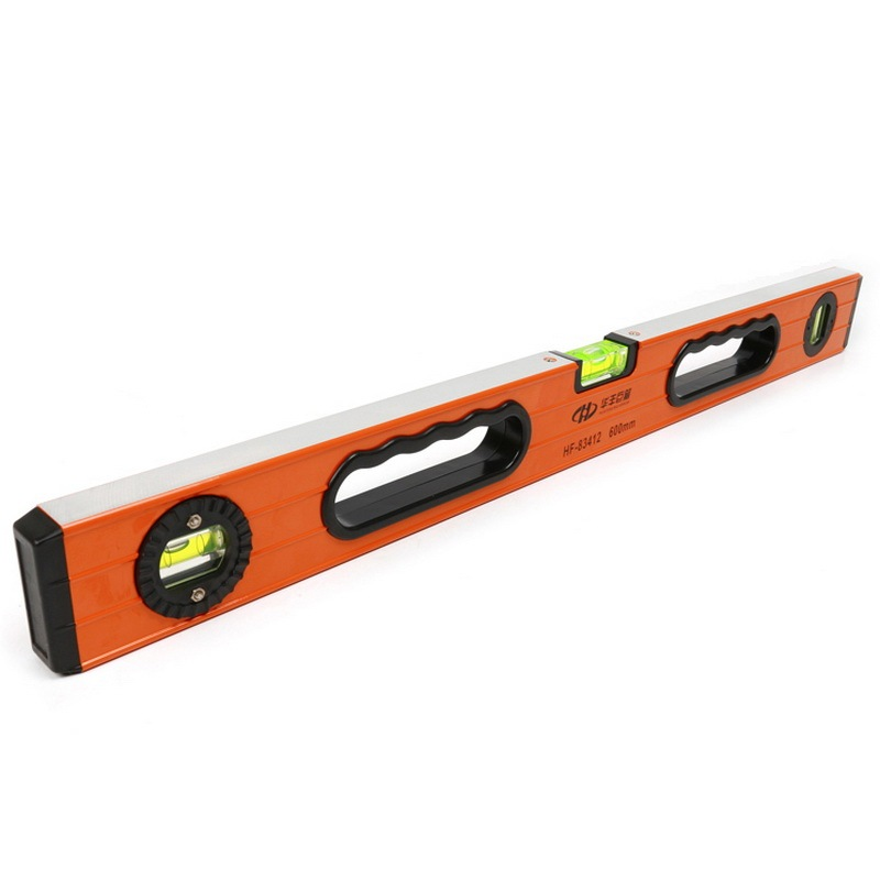 Huafeng giant arrow 600- 1200mm magnetic level gauge aluminum spirit level tester balance ruler tool