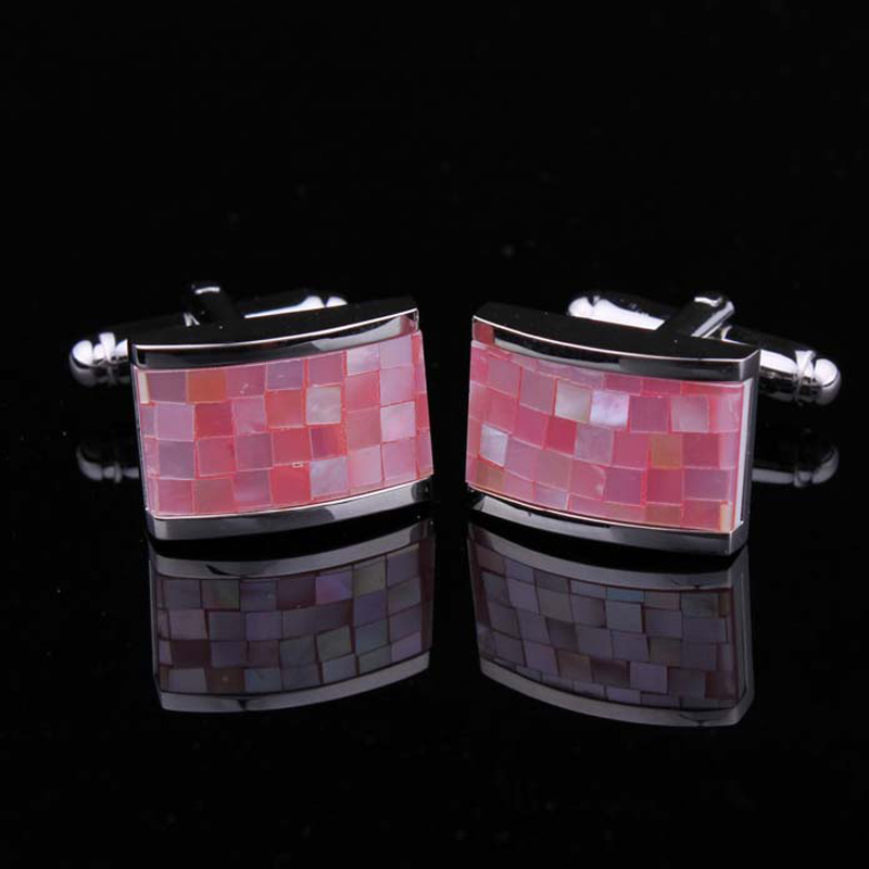 Hunting is still pink shell cufflinks cufflinks cufflinks cuff shirt