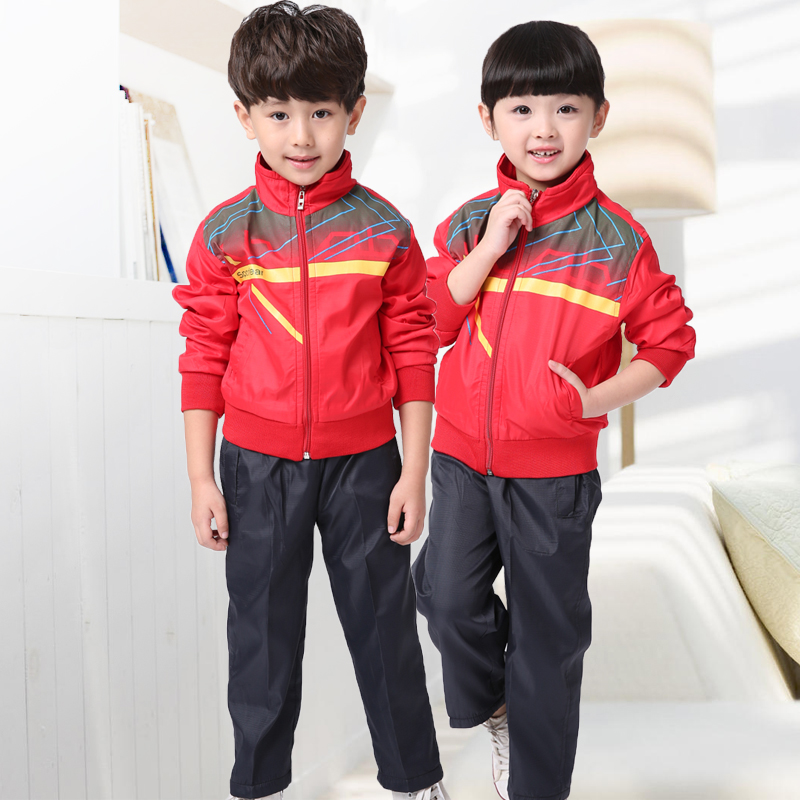 Hyun era of new primary and secondary school uniforms autumn and winter clothes kindergarten classes for children spring models sports suit