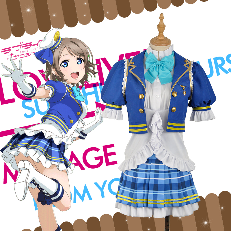 [Hyun man] lovelive! sun shine! Watanabe disachievement of mutive hit song suits cosplay