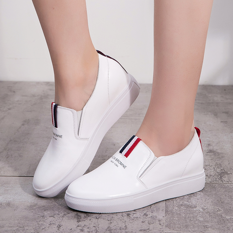 Get Quotations · Iger bird spring casual white shoes women shoes leather  sport shoes loafers shoes women shoes korean 417bde364