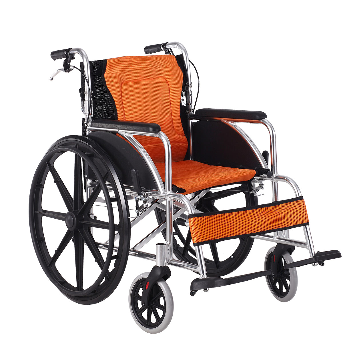 Iliad elderly YC6200X aluminum alloy manual wheelchair bedsore cushion lightweight wheelchair with the rehabilitation of persons with disabilities