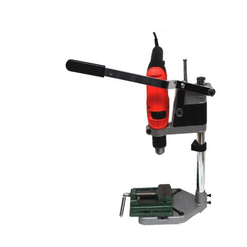 Impact drill multifunction hand drill bench universal bracket shelf bracket become mini bench drill