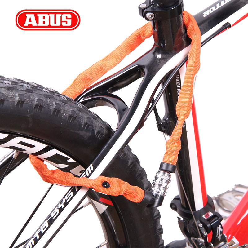 Imported from germany abus lock bike lock bike mountain bike road bike dead coaster safety of children