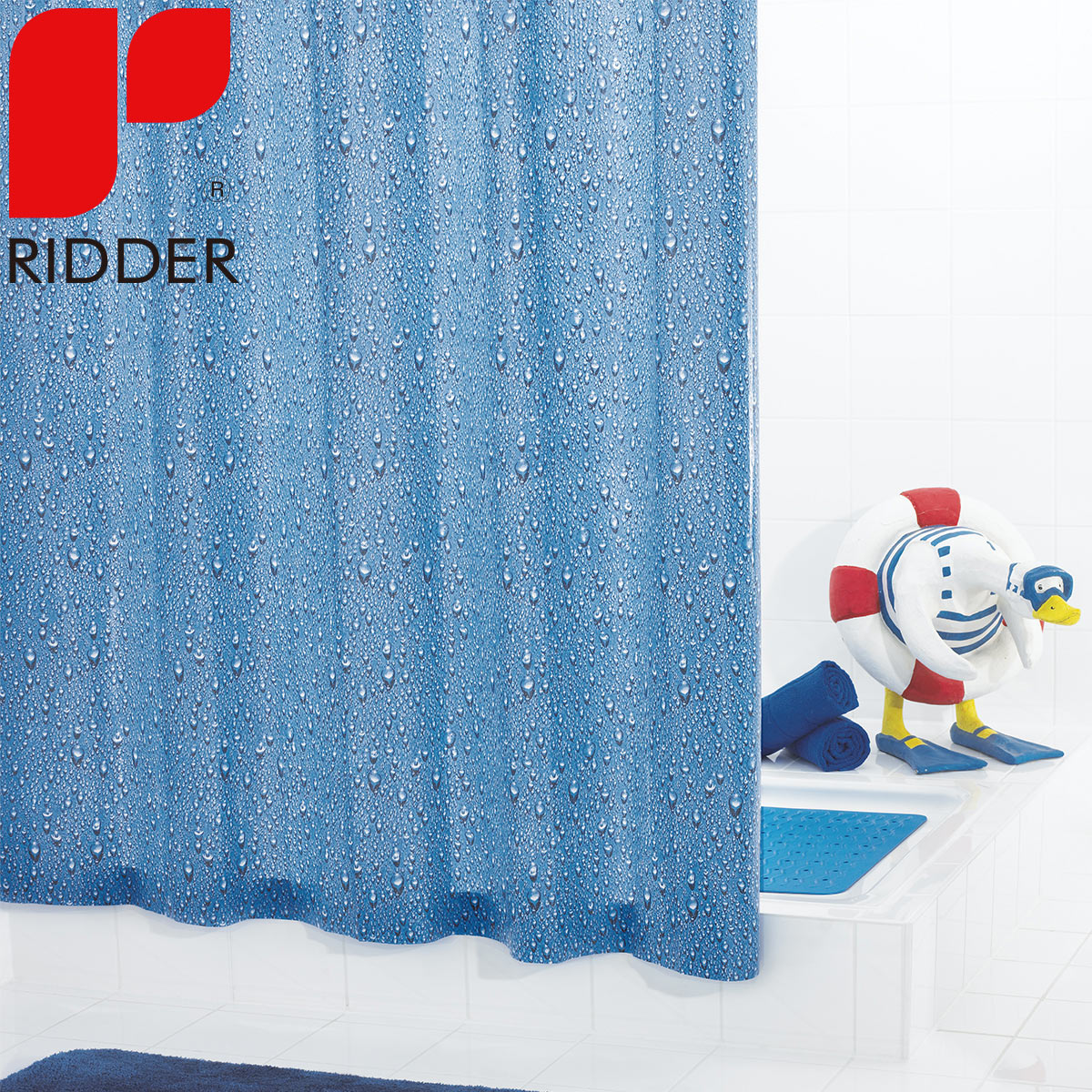 Imported from germany ridder european minimalist eva thick waterproof mildew shower curtain curtain curtain 34330
