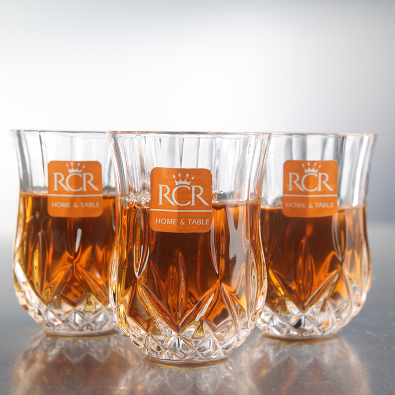 Imported italian rcr unleaded crystal wine glass cup spirits maotai liquor cup cup bullet to swallow cup
