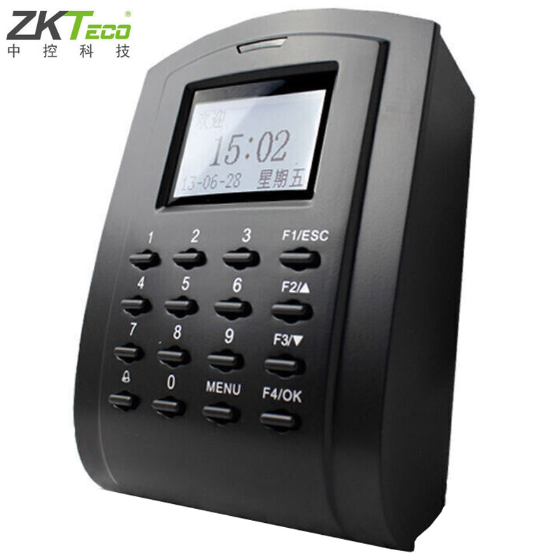 In the control of wisdom (zkteco) sc102 id card access control host password attendance access control one machine