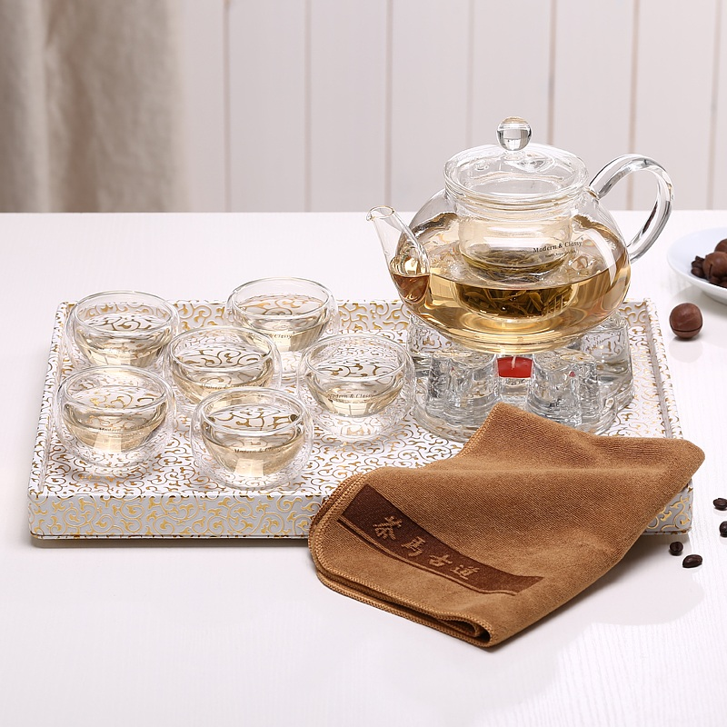 In the terai zi entire kung fu tea set tea set heat proof temperature kung fu tea set