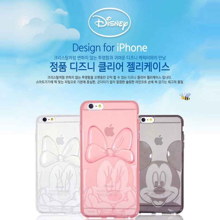 Iphone6s plus disney mickey cartoon mobile phone shell silicone soft apple 6 puls whole package drop resistance