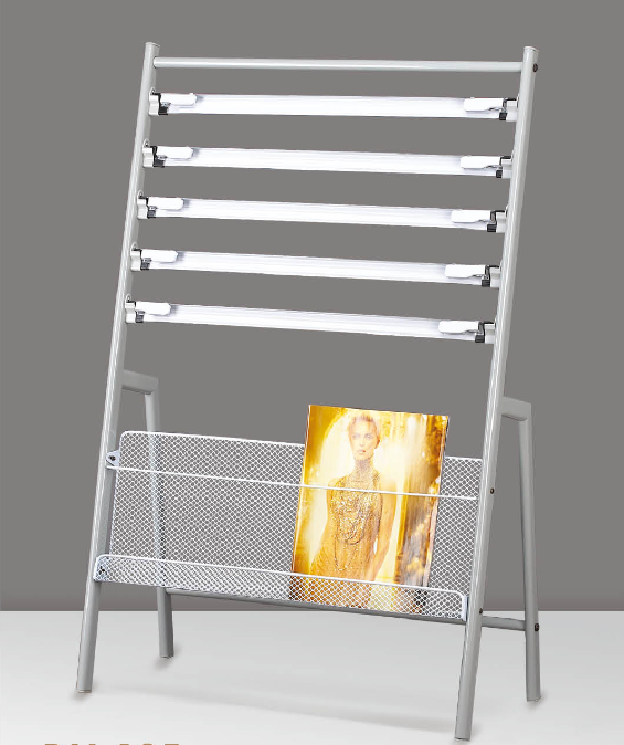 Iron newspaper rack newspaper rack newspaper rack newspaper rack magazine rack display data frame publicity rack