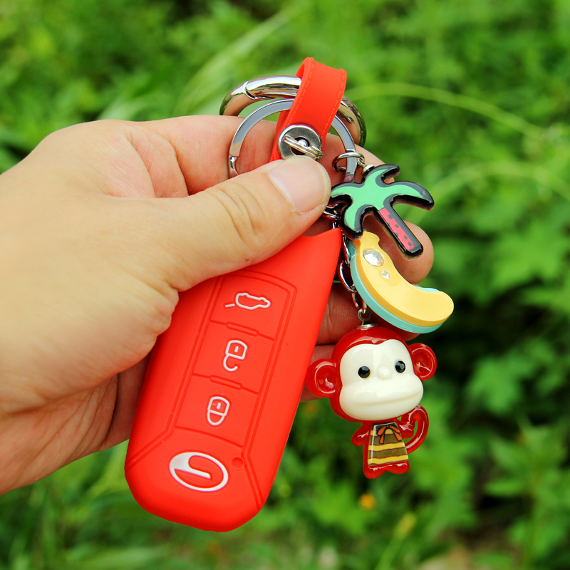 Is dedicated to the guangzhou automobile chi chuan gs-4/guangqi ga6/ga3s/ga5/gs5/subscription/car Silicone key cases key sets