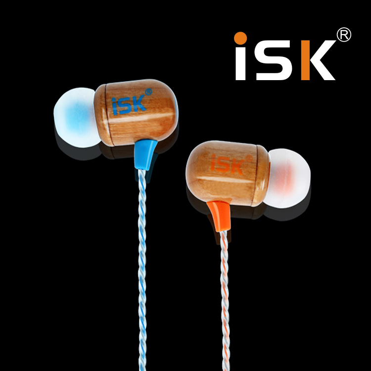 Isk sem8 woodiness sem8 professional monitoring headphones ear headphones computer k song recording monitor earphones bass rod