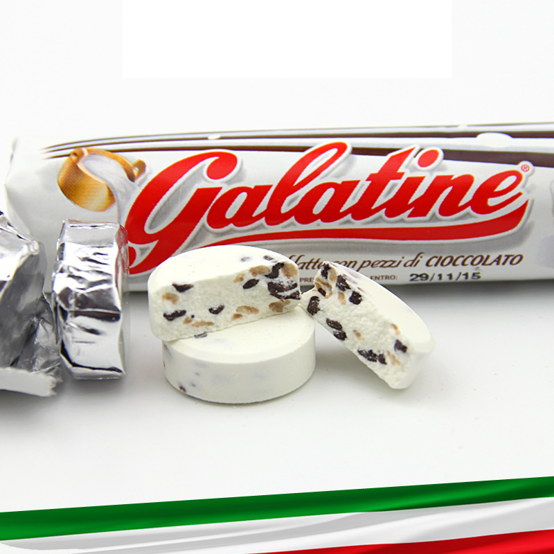Italy imports squeak given galatine squeak ingot calcium milk sugar 36g chocolate nutrition milk tablets