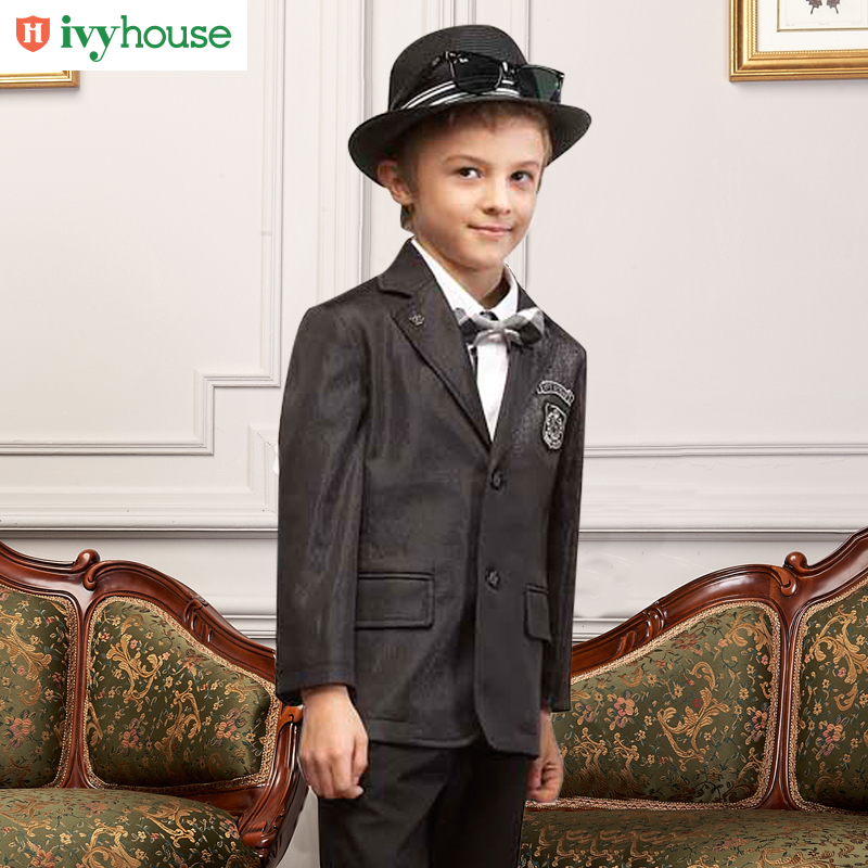 Ivyhouse ivy kids boys college wind suit coat spring and autumn the new children