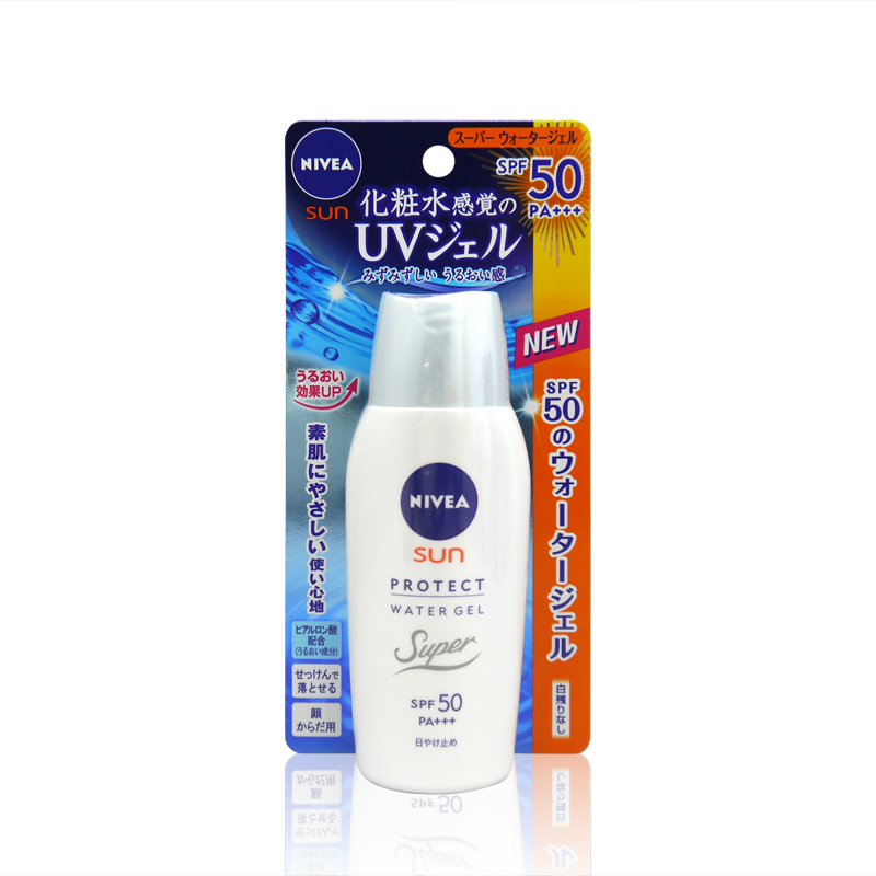 [Japan] direct mail nivea/nivea moist sunscreen spf50 sunscreen gel 80g