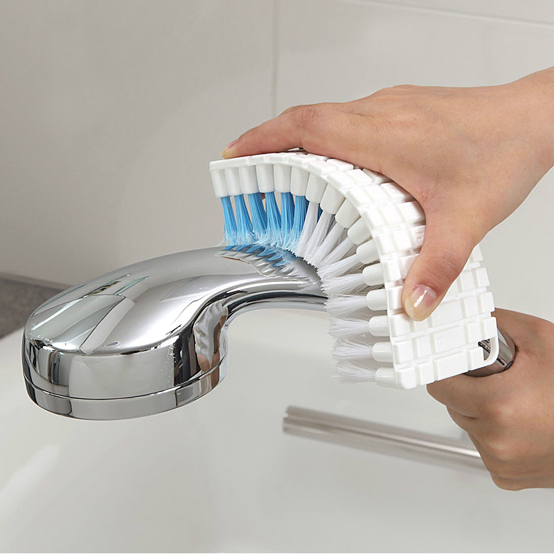 Japan imported bathroom faucet brush brush corner decontamination cleaning brush can be bent soft bristle bath brush soft bristle brush