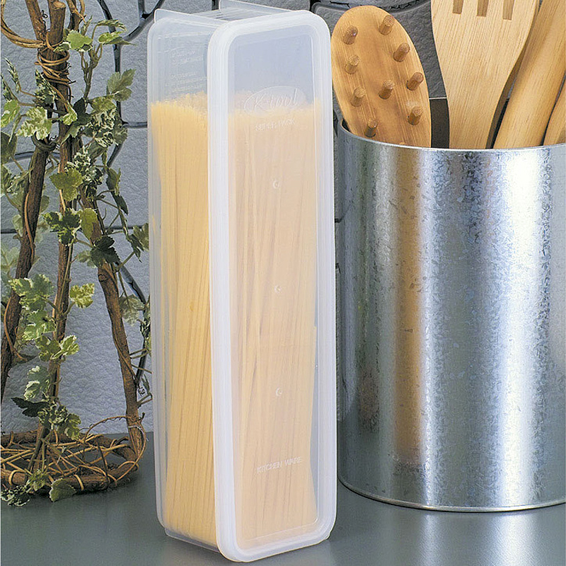 Japan imported pasta spaghetti pasta macaroni noodles storage box crisper sealed cans kitchen refrigerator storage box