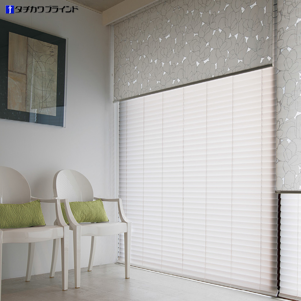 Japan imported tachikawa tachikawa custom pearl semipermeable matte 50mm wide piece of aluminum blinds