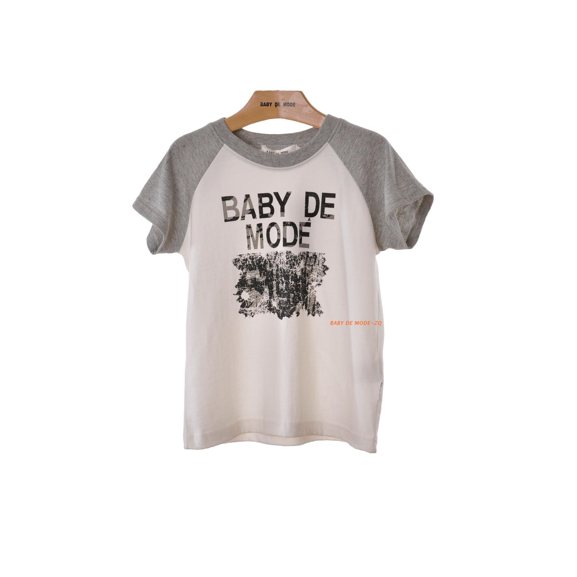 Japanese kids summer [babe modern authentic] knit shirt children's t-shirts