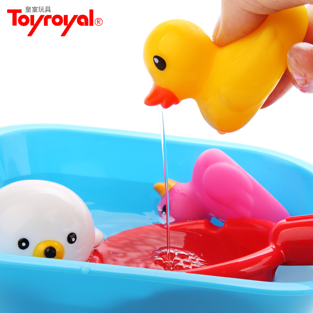 Japanese royal baby toys counter infants and young children playing in the water toys baby bath toy