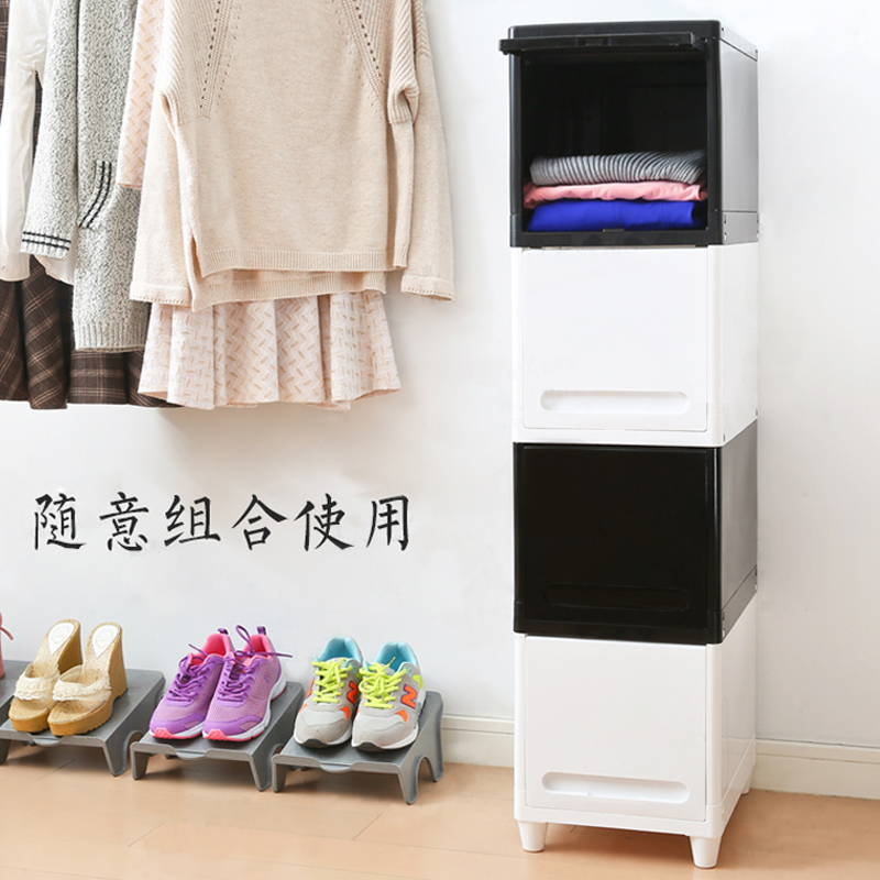 Japan's imports of clothes storage cabinets lockers finishing cabinet storage box of children's toy cabinet storage cabinet storage compartment