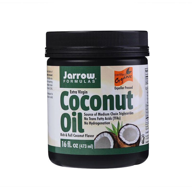 Jarrow jarrow organic extra virgin coconut oil edible oils and hair care beauty enhanced immune antiaging